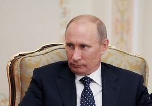 Путин прилетел в Крым и встретился с Януковичем