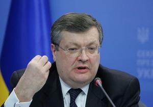 Украина поддерживает Россию во вступлении в ВТО - Грищенко