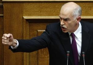Парламент охваченной кризисом Греции проголосовал за доверие правительству