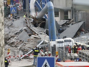 В немецком Кельне обрушилось здание архива