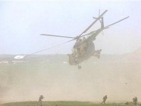 В Перу экстремисты сбили военный вертолет