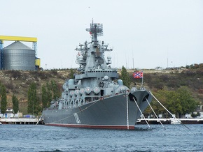 Руководство ВМФ России обвинило экипаж в инциденте на борту крейсера Москва