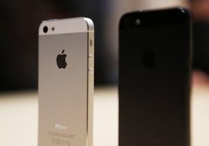 Новый iPhone 5 побил по популярности рекорд всех предыдущих моделей