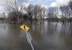новости Украины - наводнение - В 10 областях Украины подтоплены 188 населенных пунктов