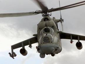 В России разбился ударный вертолет Ми-24