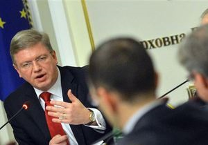 Фюле: Для подписания ассоциации с ЕС у Украины есть время до ноября
