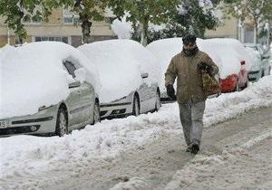 WWF: Аномальные снегопады в Европе – последствия глобального изменения климата