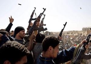 Ливийские повстанцы озвучили условия перемирия с Каддафи