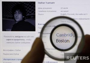 взрывы в бостоне - задержание царнаева: Москва не смогла предоставить США информацию о бостонских террористах