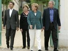 Буш прилетел в Германию обсуждать проблемы Ирана