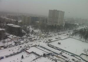 Непогода в Киеве - снег в Киеве- новости Киева - В Киеве из-за непогоды объявлена чрезвычайная ситуация