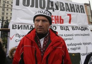 Активисты киевской Батьківщини прекратили голодовку