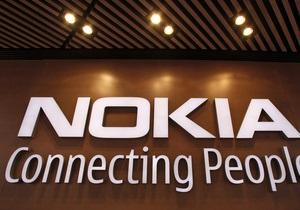 Nokia терпит убытки в 2012 году, акции компании упали почти на 20%