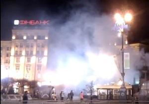 Пользователи Twitter пишут о возгорании на станции Майдан Незалежности