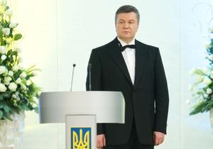 Янукович отмечает, что 2012 год был для Украины очень непростым