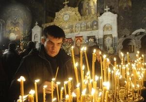 Самые многочисленные Рождественские службы прошли в западных областях Украины