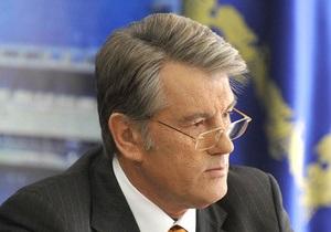 Ющенко подозревает, что вчерашнее отключение телеканалов было диверсией против него