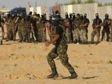 В секторе Газа мощный взрыв разрушил штаб палестинских боевиков