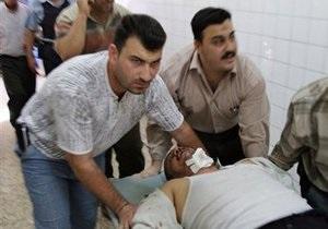 Теракты в Багдаде: взрывы повредили здание украинского посольства