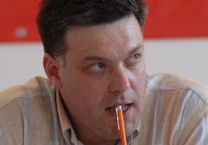 Тягнибок проголосует в киевской школе, Гриценко – в Институте токсикологии