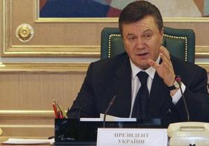 Янукович впервые встретился с губернаторами: Перерыв в развитии регионов завершился