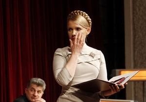 Прокуратура сочла приговор Тимошенко обоснованным