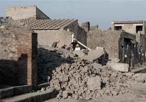 В Помпеях обрушился дом гладиаторов