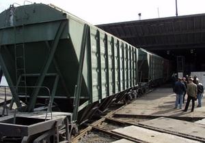 В Житомирской области четыре вагона сошли с рельсов