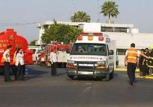 В Мексике разбился самолет ВВС страны