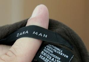 Zara обвинили в использовании рабского труда