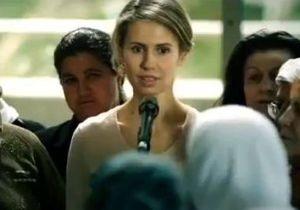 Асма Асад снялась в ролике на YouTube в поддержку мужа