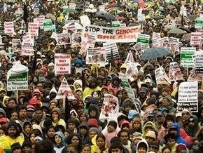 В центре Оттавы собрались 30 тысяч сторонников тамильских тигров