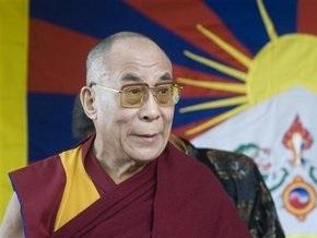 Китай осудил визит Далай-ламы на Тайвань