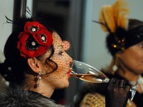 Фотогалерея: Украинские вечерницы в стиле ретро
