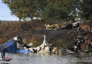 СМИ: Причиной крушения Як-42 мог стать включенный стояночный тормоз