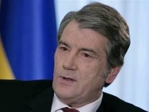 Ющенко хочет оплатить экспертизу пленок Мельниченко за счет своих зарубежных поездок