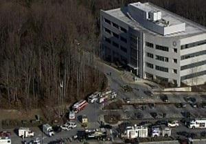 В США при взрыве бомб в зданиях госучреждений ранены несколько человек