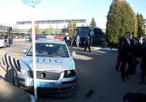 Колесников признал свою вину в ДТП во Львове и купил гаишникам новый автомобиль