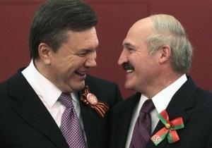Янукович: Лукашенко подставили собственные спецслужбы