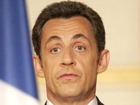 Самолет Саркози сломался во время взлета