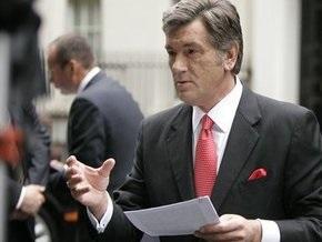 Ющенко: Только депутаты НСНУ отстаивают национальные приоритеты