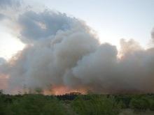 Убытки от пожара в Полтавской области составляют около 2 млн грн