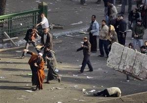 Полиция применила резиновые пули для разгона демонстрантов в Каире