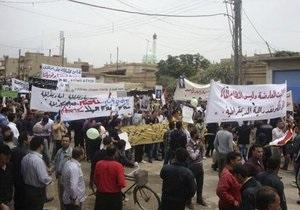ООН: Число жертв столкновений в Сирии превысило 2,9 тысячи человек