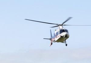 В Каневе открыли вертолетную площадку