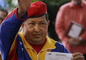 Чавес официально стал кандидатом в президенты Венесуэлы
