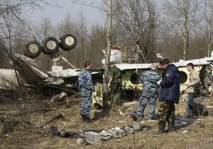 Польша просит Евросоюз убедить Москву вернуть ей обломки президентского Ту-154