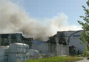 Недалеко от Хельсинки произошел крупный пожар на заводе с токсичными химикатами