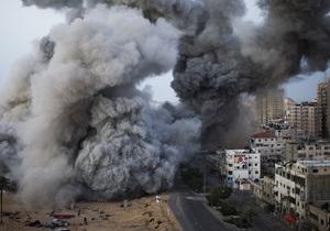 Израиль продолжает атаковать Газу. Палестинцы приостановили обстрелы