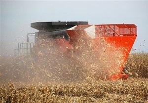 В Украине существенно сократились запасы зерна
